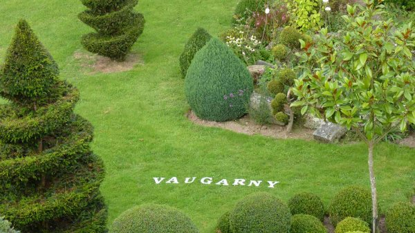 Unique garden Brittany