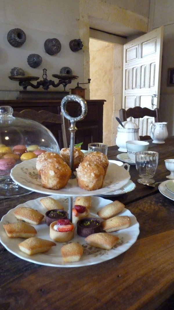 Tea Room in France Château du Rocher Portail