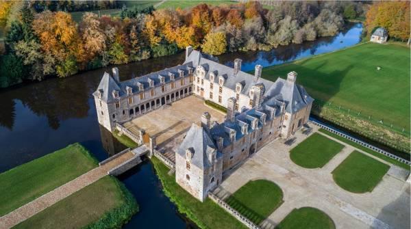 Gîtes au château Bretagne